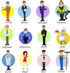 Jobs clipart safely. Of different free images