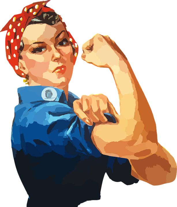 Women helping build their. Professional clipart woman entrepreneur