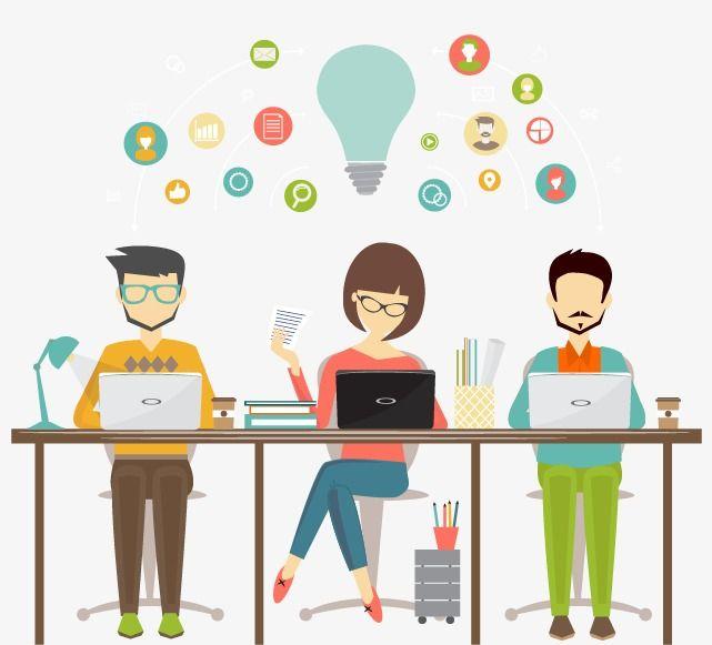 Designer office clerk png. Jobs clipart workplace