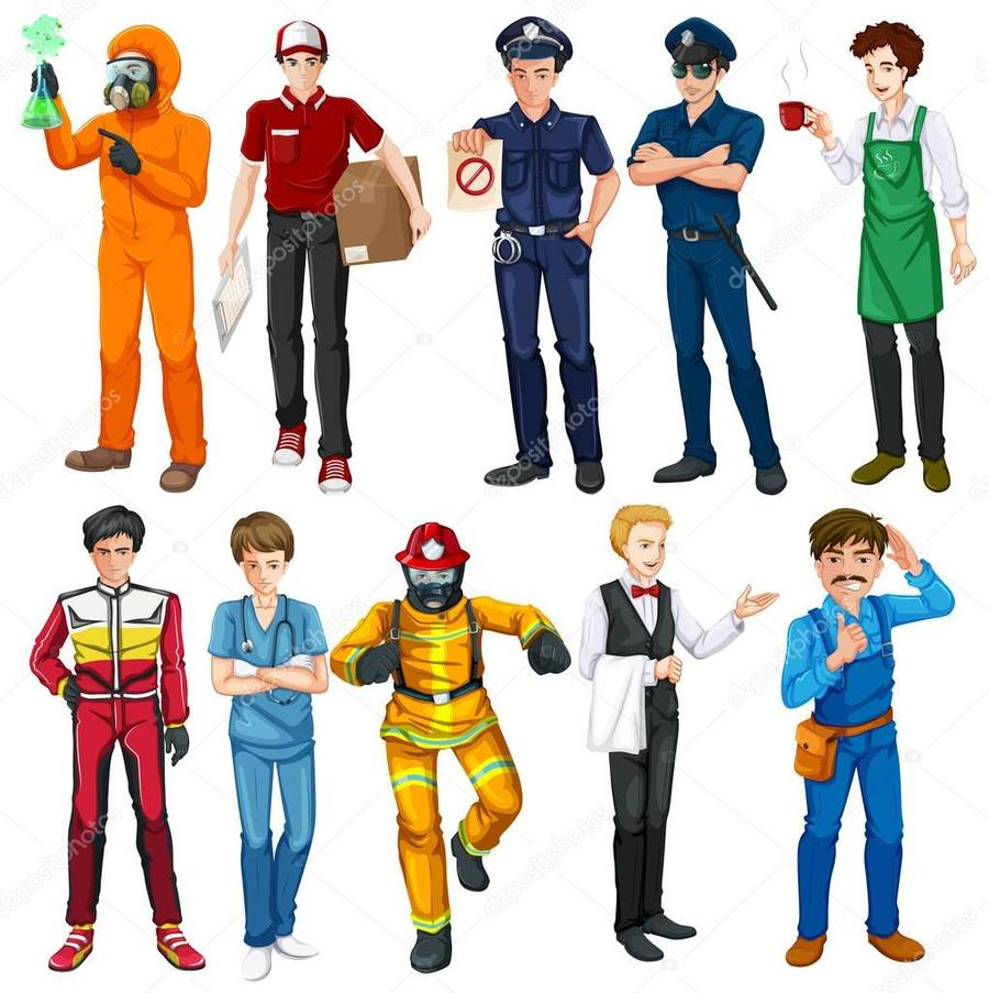 X free clip art. Jobs clipart job role