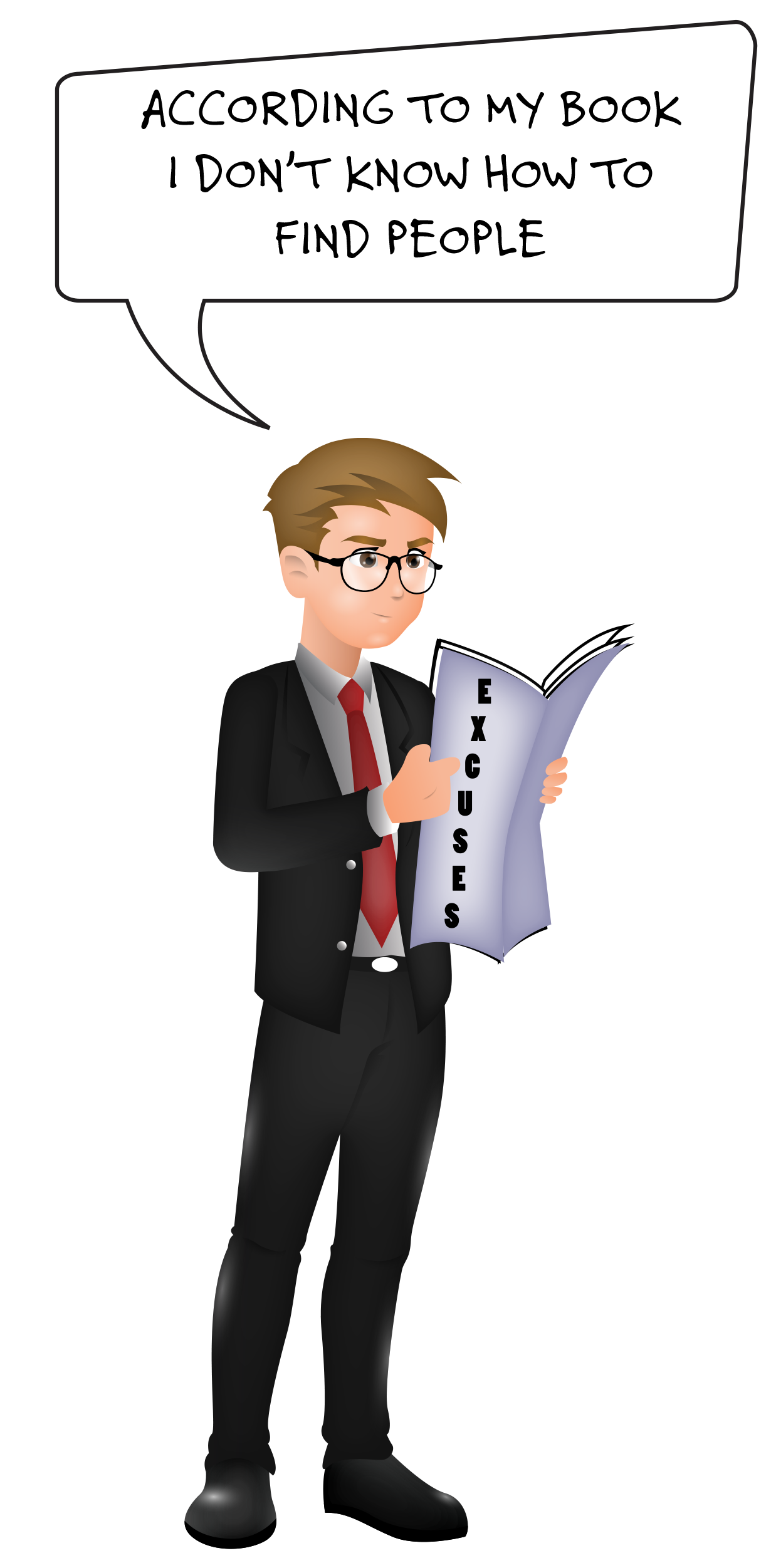 Easy business to start. Jobs clipart jobless