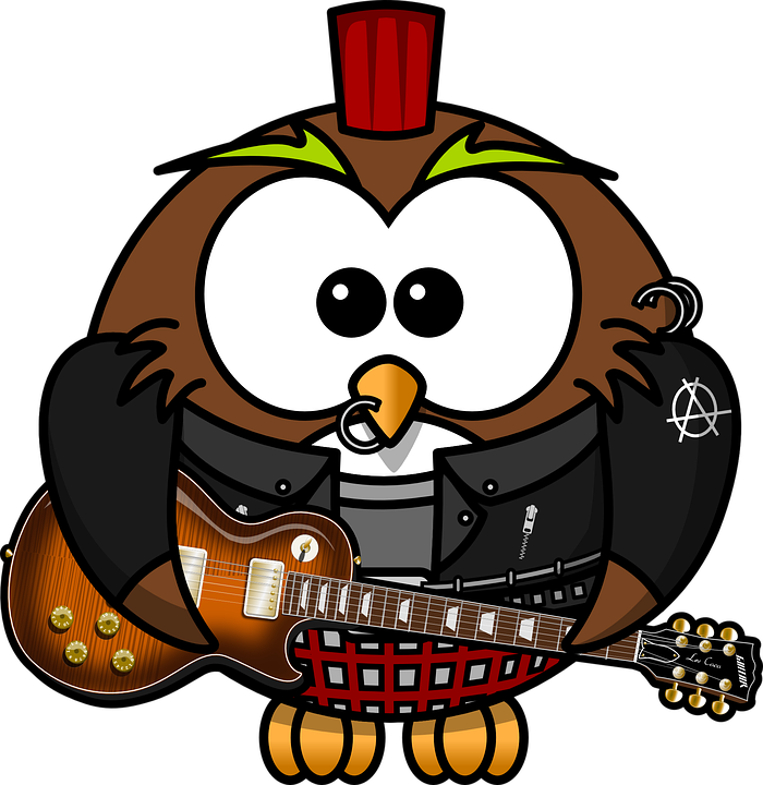 pixabay funny punk. Jobs clipart owl