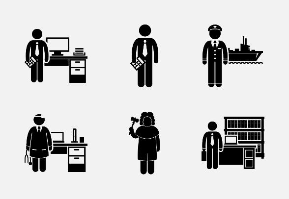 Jobs clipart professional job. Free download clip art
