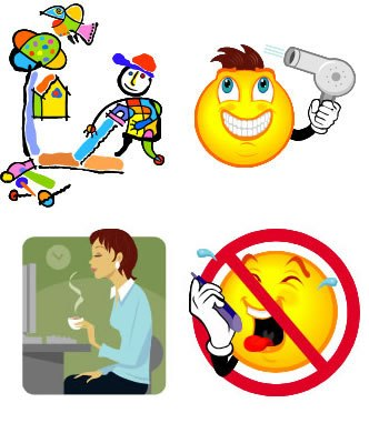 Bin it you know. Jobs clipart stereotypical