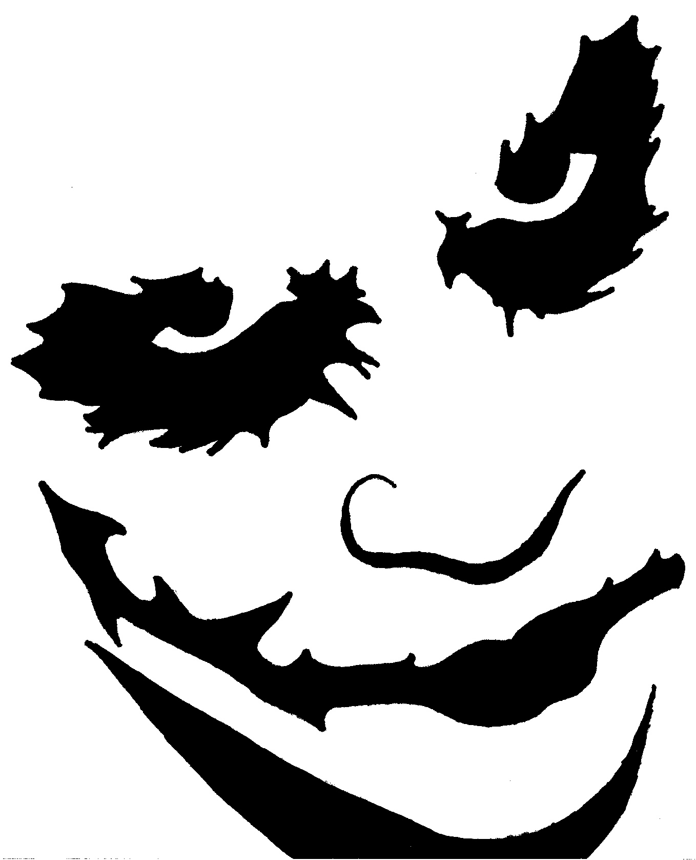 collection of dark. Joker clipart