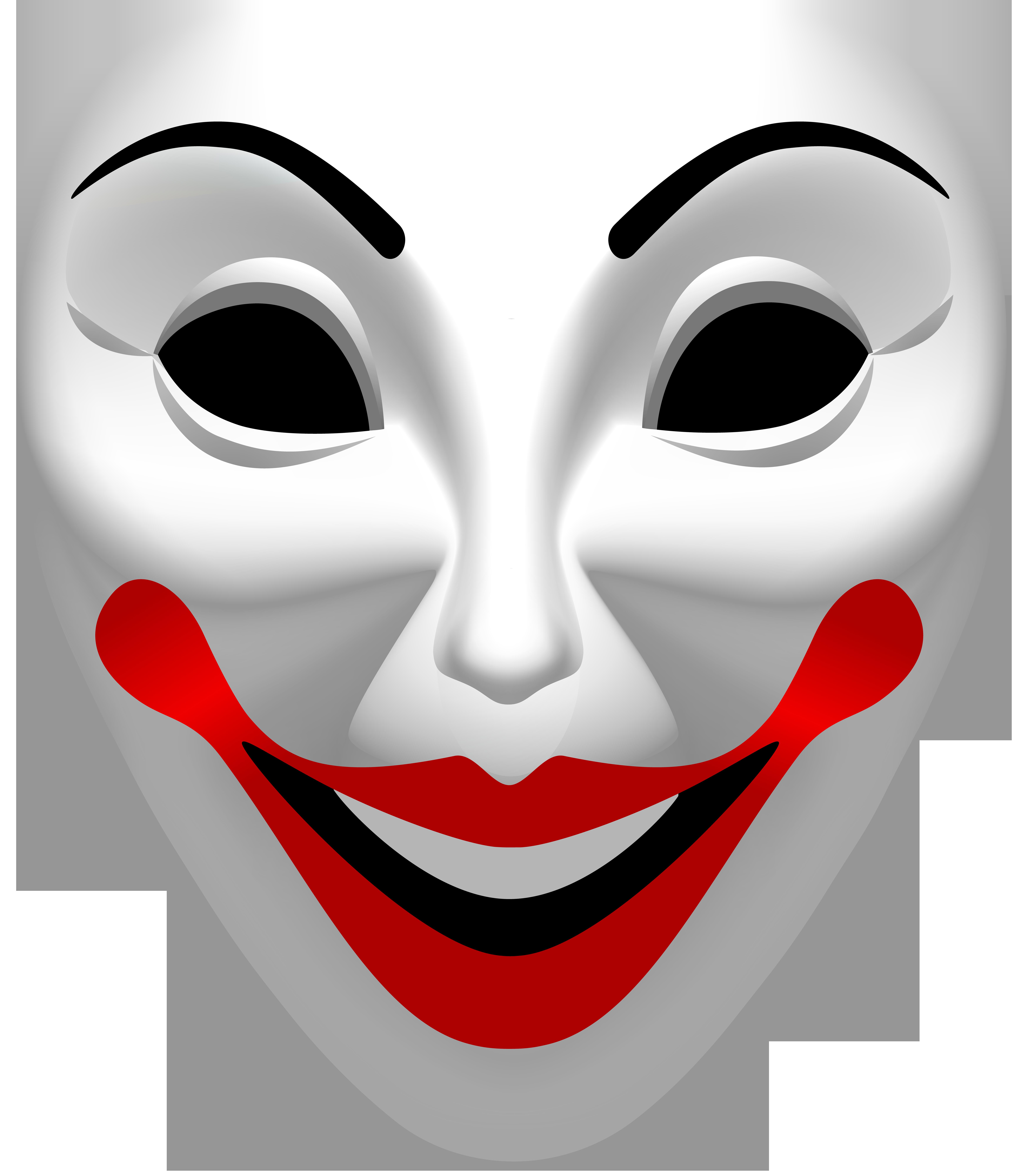 Joker png clip art. Mask clipart halloween