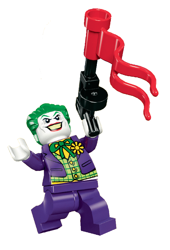 Image the joker png. Legos clipart colored