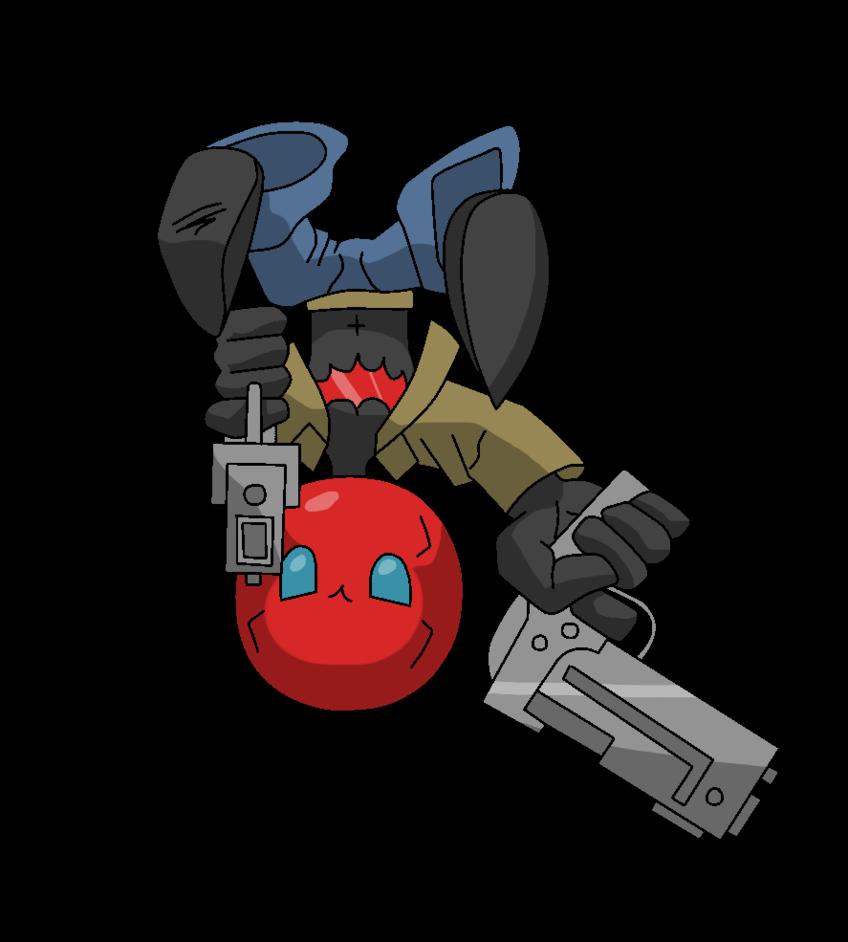 Joker clipart gag gun. Chibi red hood a