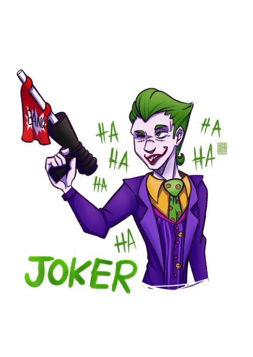 Artwork digital art artist. Joker clipart haha