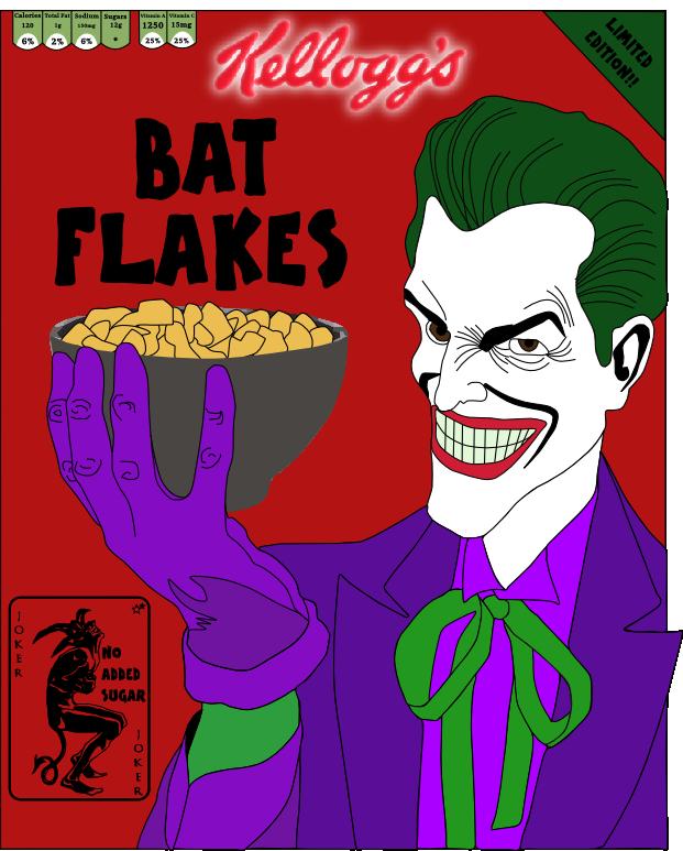 Joker clipart haha. Cereal by chucky on