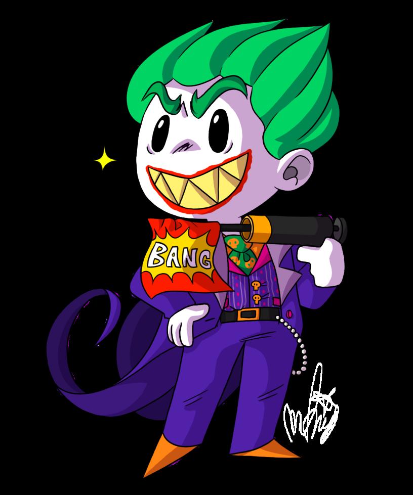 Bang by a la. Joker clipart haha