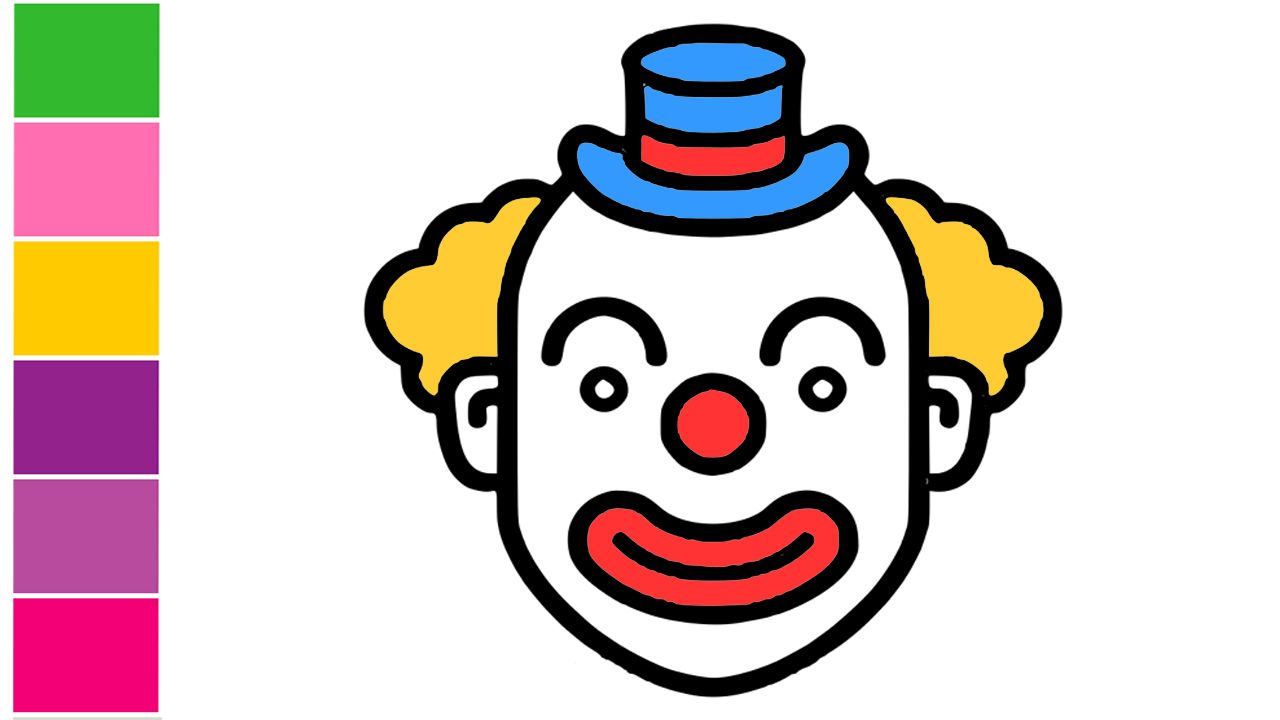 Joker clipart kid. Learn to draw face