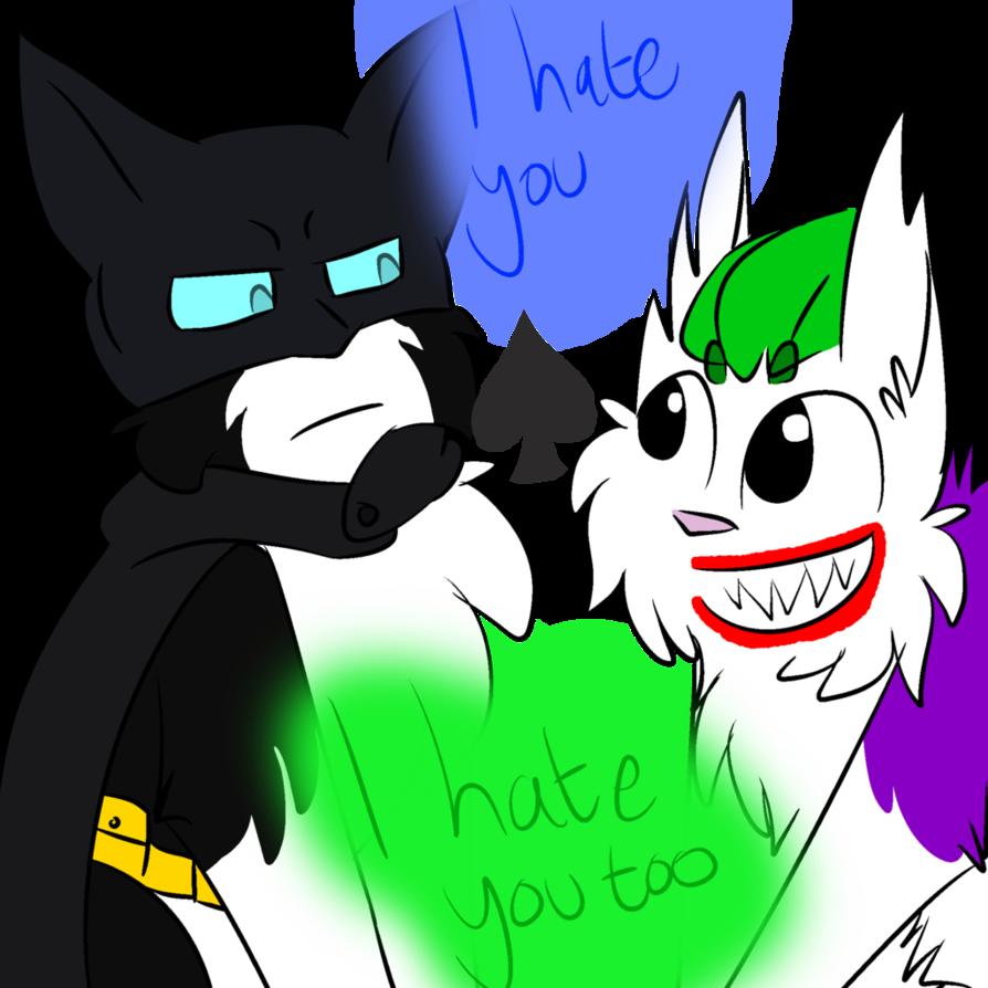 And batman by dragon. Joker clipart mobile hd