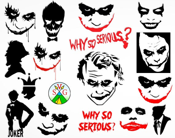 Joker clipart svg. Sale cut files why