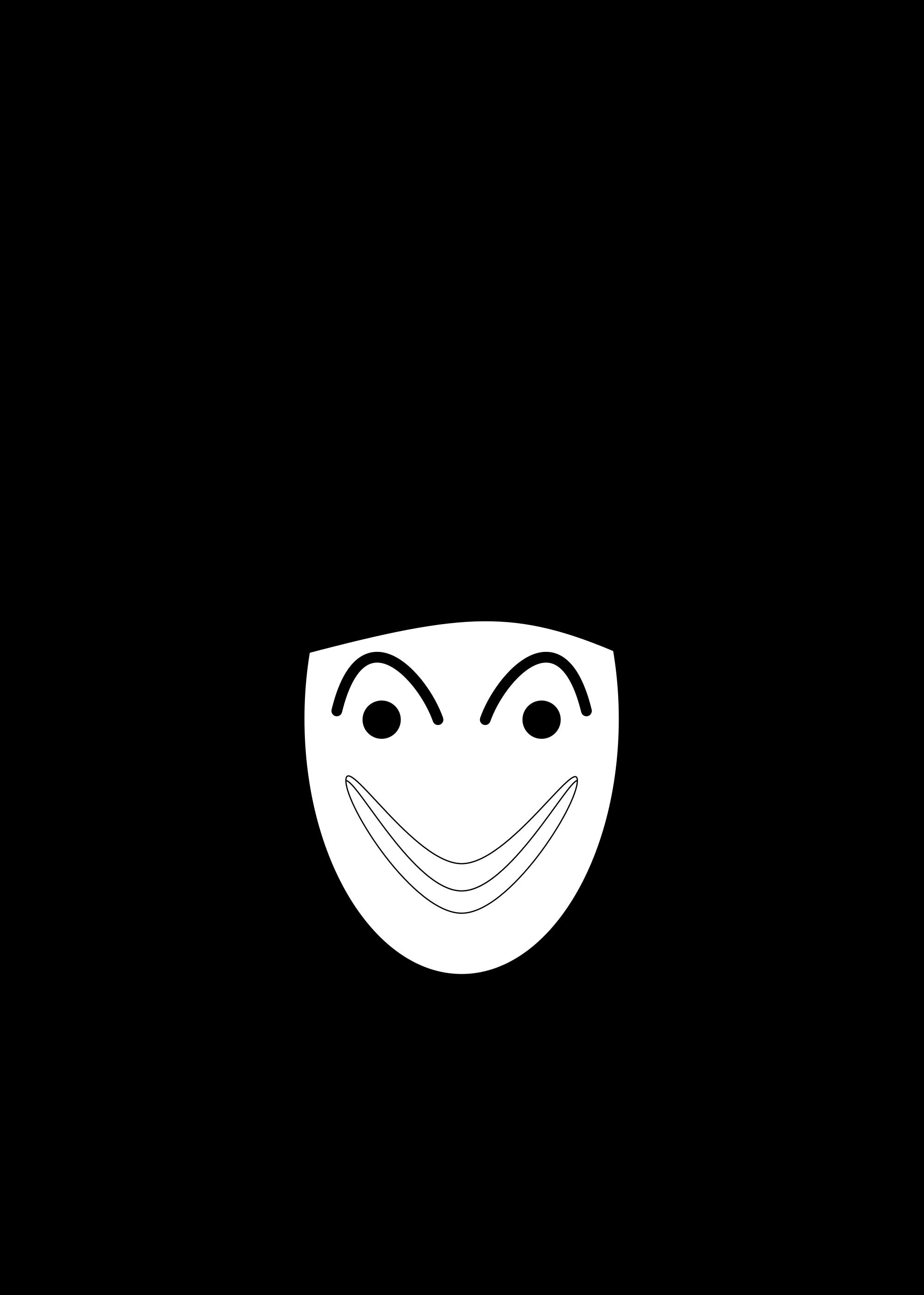 Joker clipart svg. File cards black hy