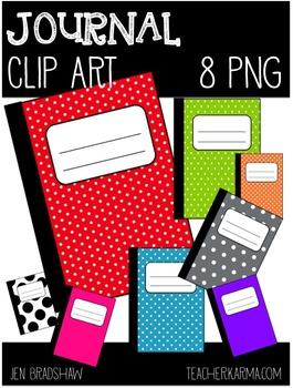 Journal clipart. Free clip art notebook