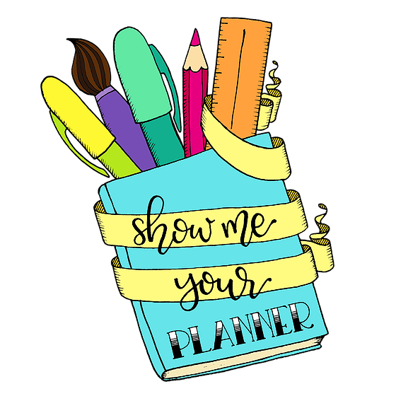Keeping an organized to. Planner clipart food journal