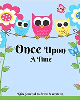 A kids journal to. Writer clipart once upon time book