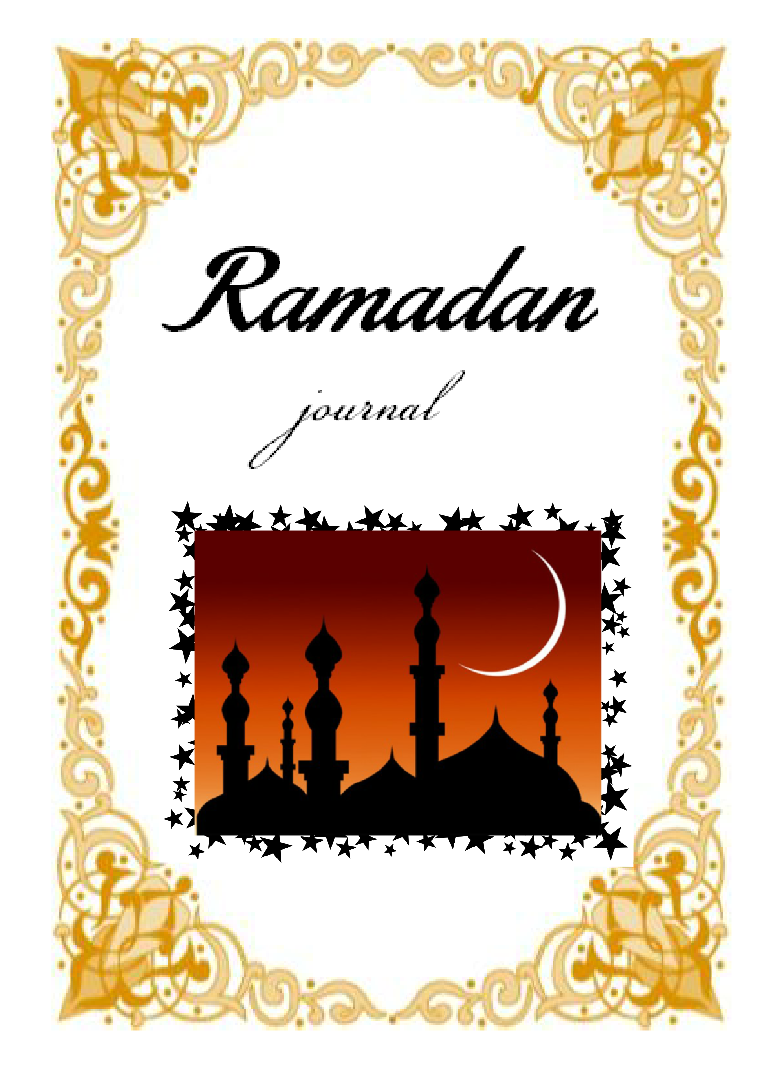 Journal clipart class note. Ramadan seeds of knowledge