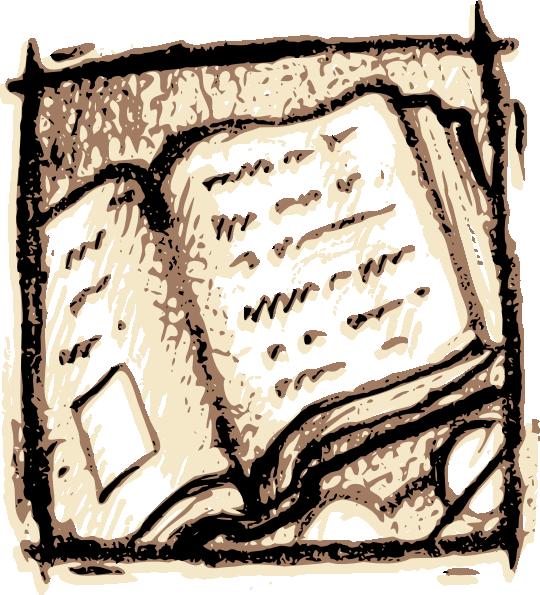 Open book clip art. Textbook clipart literature