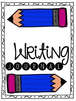 Writing pages by tales. Journal clipart journal cover