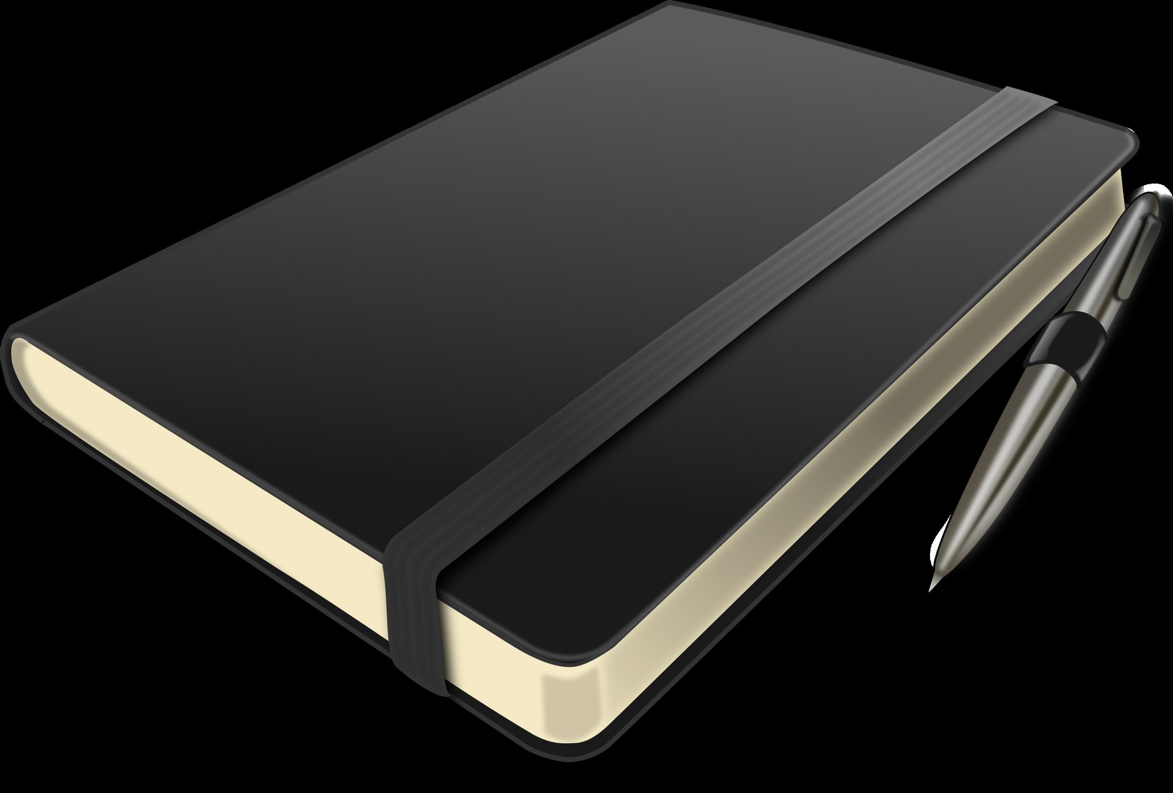 Notebook clipart notebook pen. Big image png