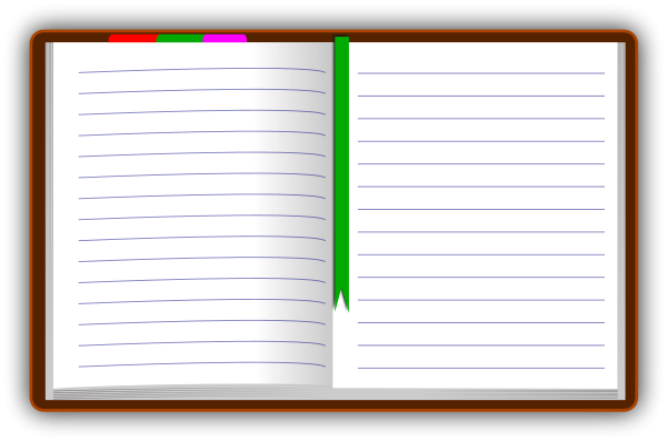 Free cliparts download clip. Notebook clipart diary