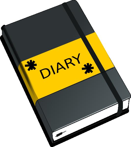 Journal clipart open. Clip art at clker