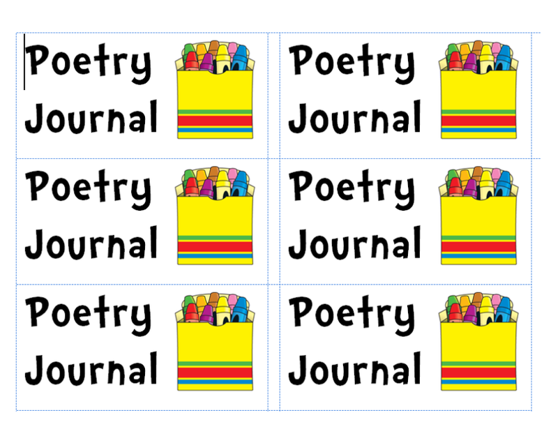 Poetry clipart learning journal. Clip art free to