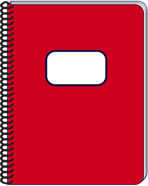 notebook clipart clipart hd