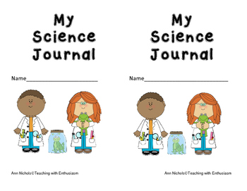 Journal clipart science journal. Covers worksheets teaching resources