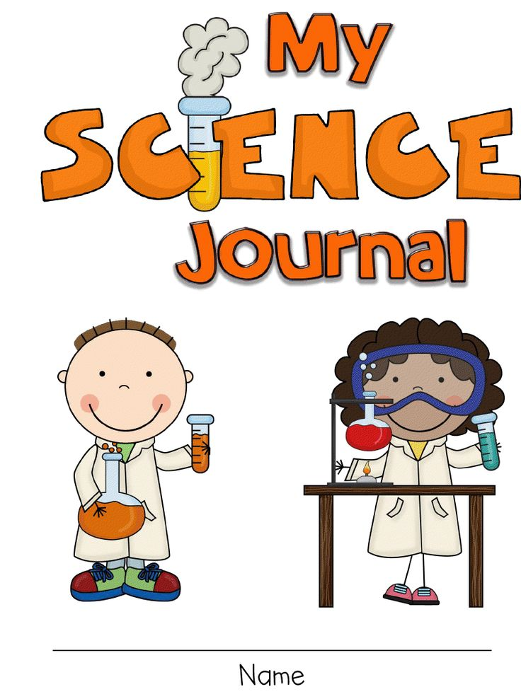 Fun in first grade. Journal clipart science journal