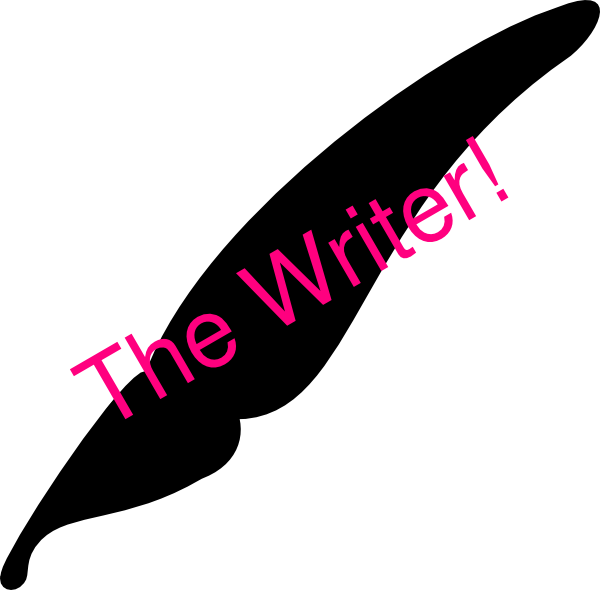 The clip art at. Writer clipart writter