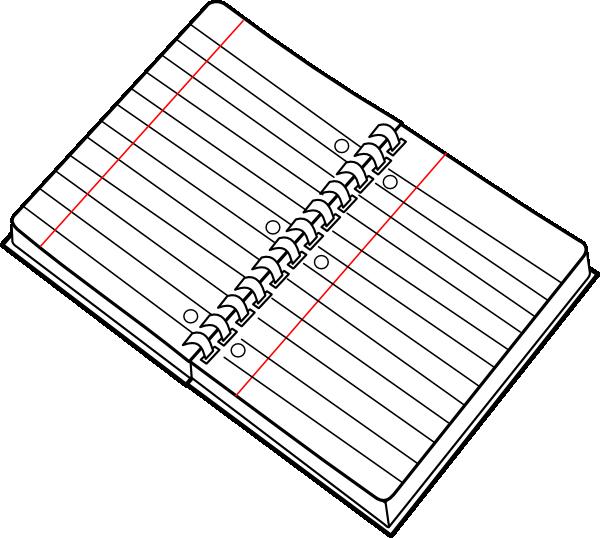 Notebook clip art at. Journal clipart spiral journal