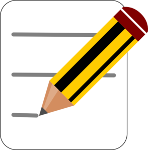 Writer clipart written note. Free notetaking cliparts download
