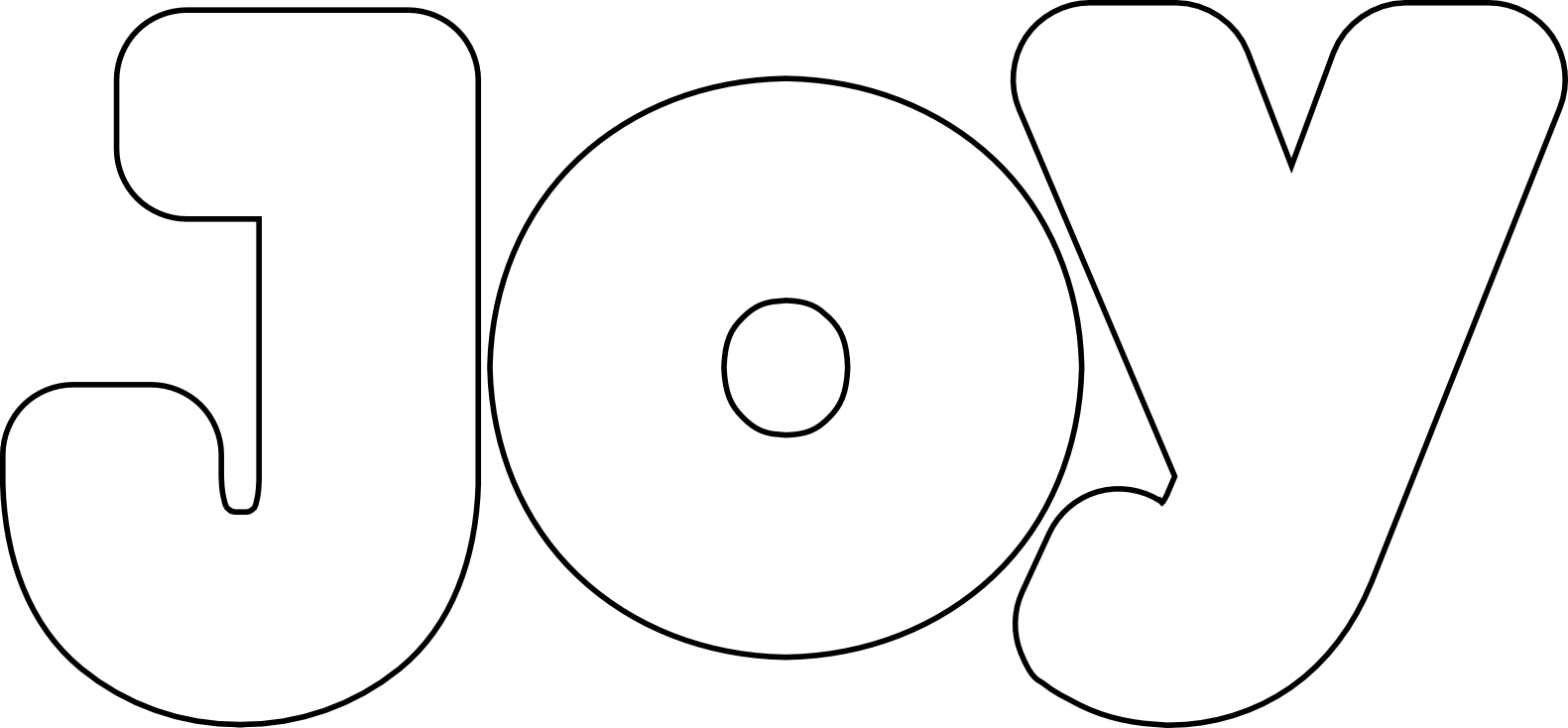 Words clipart joy.  collection of black