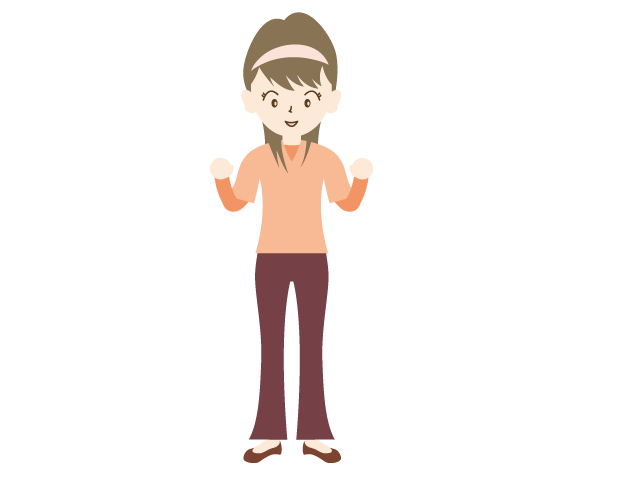 Joy clipart energetic. Woman youth family clip