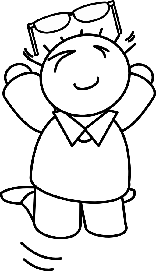 Jumping clipart black and white. Bungee panda free images