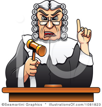 Clip art free panda. Judge clipart