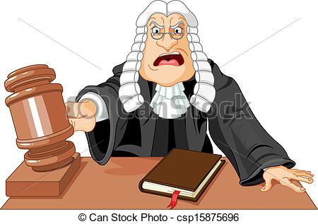 . Judge clipart