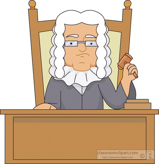 Search results for clip. Judge clipart