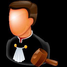 Judge clipart. Icon png image iconbug