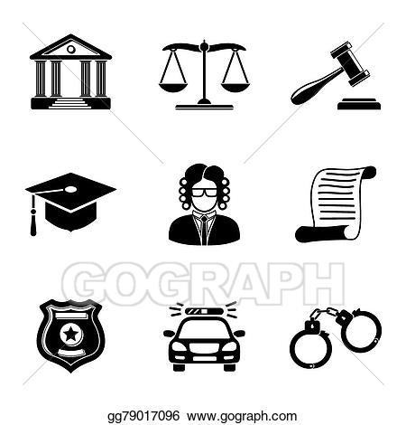 Justice clipart legislation. Vector art law monochrome