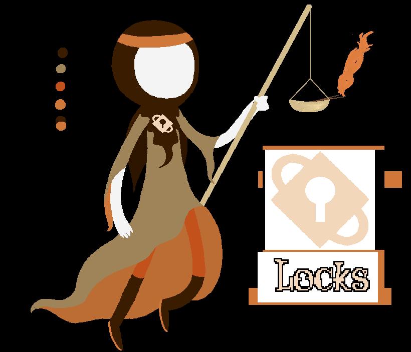Judge clipart female judge. Of locks by kakity
