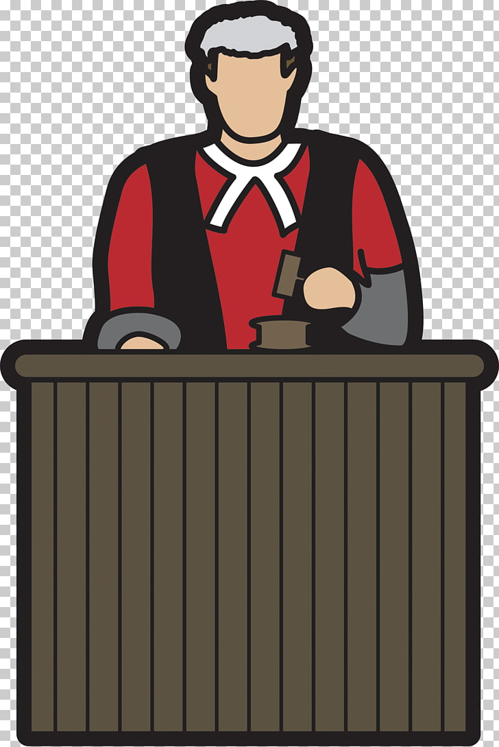 Judge clipart jugde. Court cartoon art png