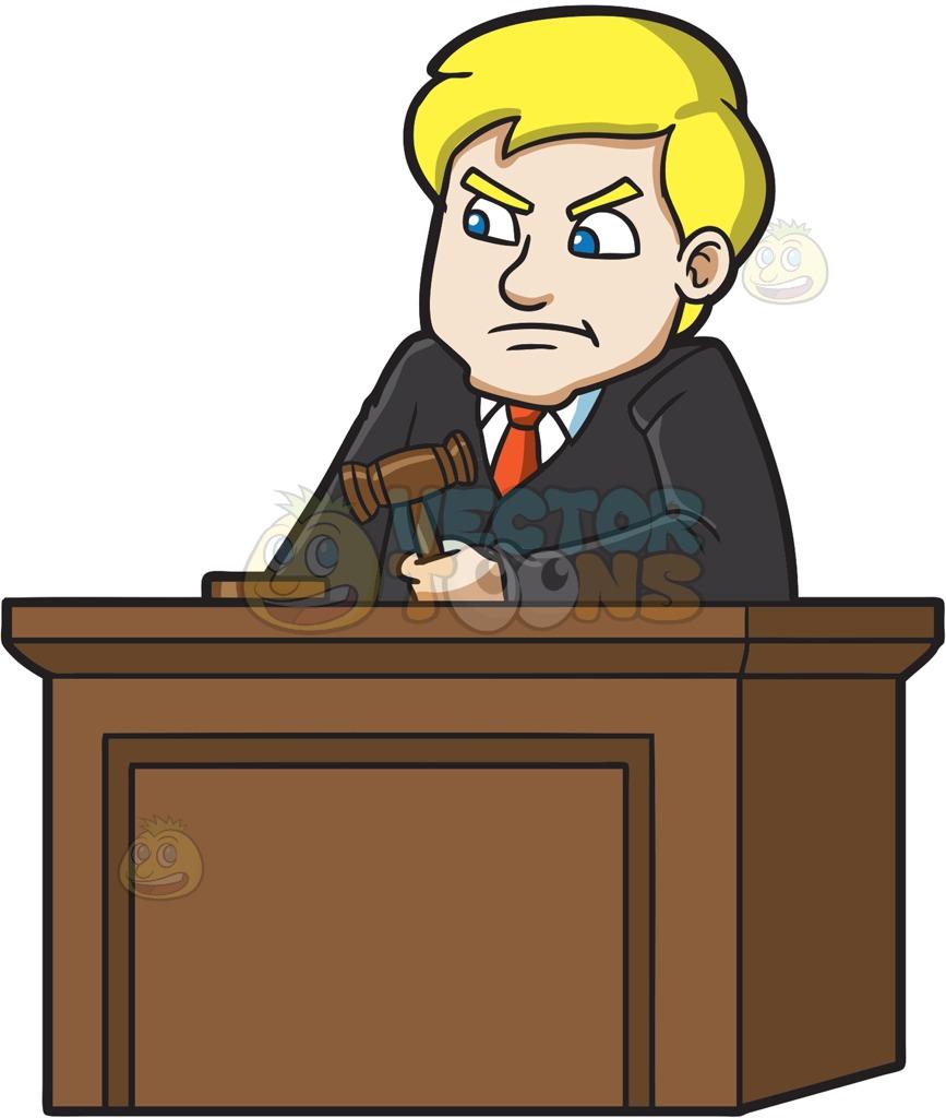Justice clipart public trial. Download woman judge court