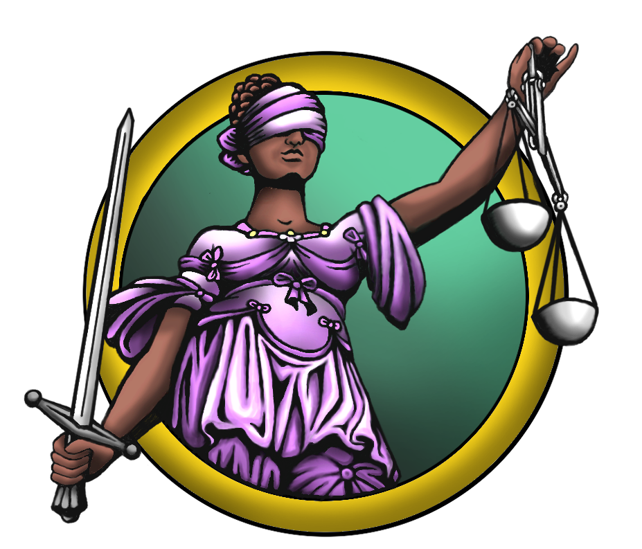 Justice v by silentearsofhope. Painter clipart lady painting