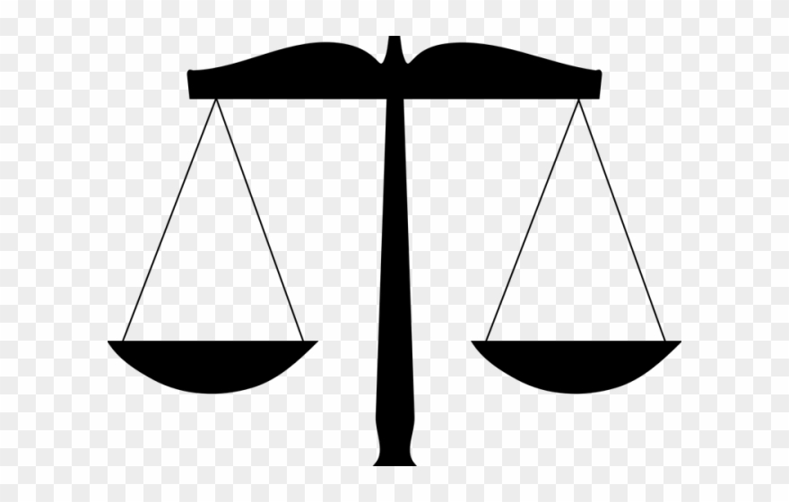 Attorney scales of justice. Scale clipart lawyer