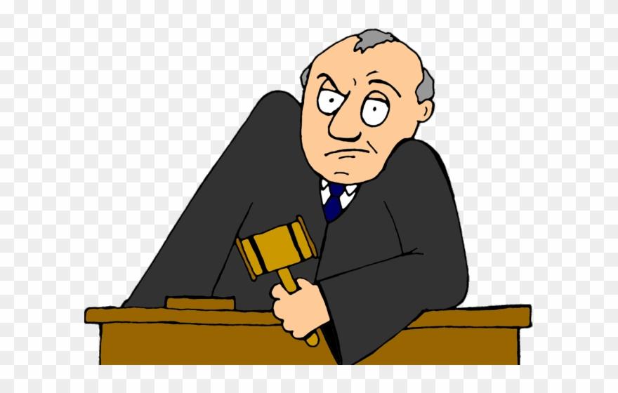 Judge clipart transparent background judge. Lawyer arraignment png download