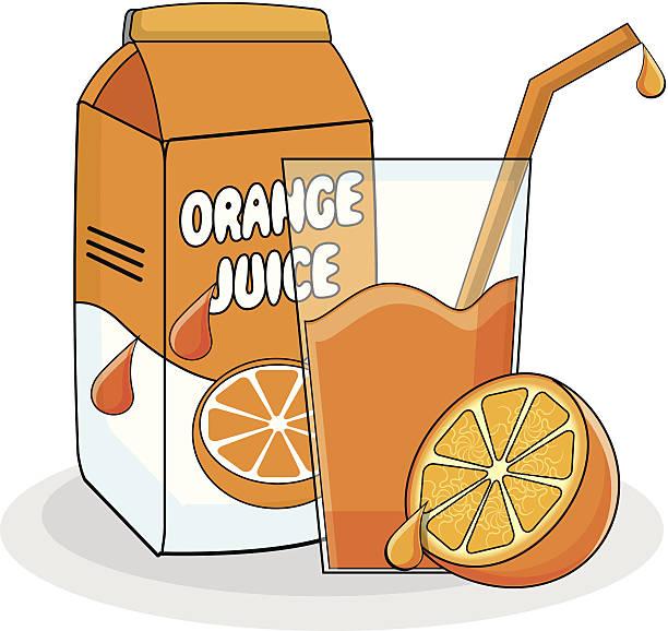 Orange station . Juice clipart